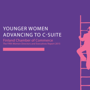 Younger Women Advancing to C-suite – The Fifth Women Directors and Executives Report 2015